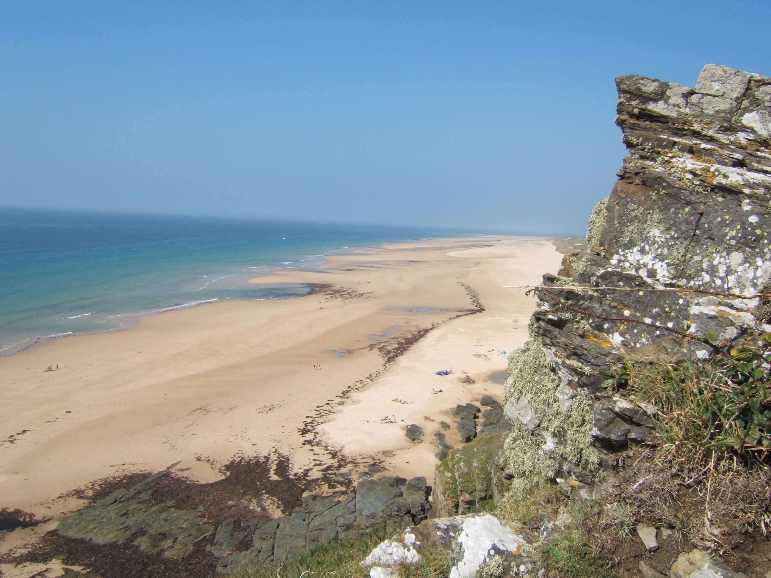Cap Carteret plage Cotentin - GITE LA DUCKERIE - Location de Gite La Clef Decamp - Laclefdecamp.fr
