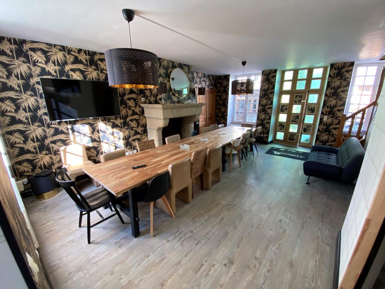 La villa du paradis salle a manger - Modification - Location de Gite La Clef Decamp - Laclefdecamp.fr