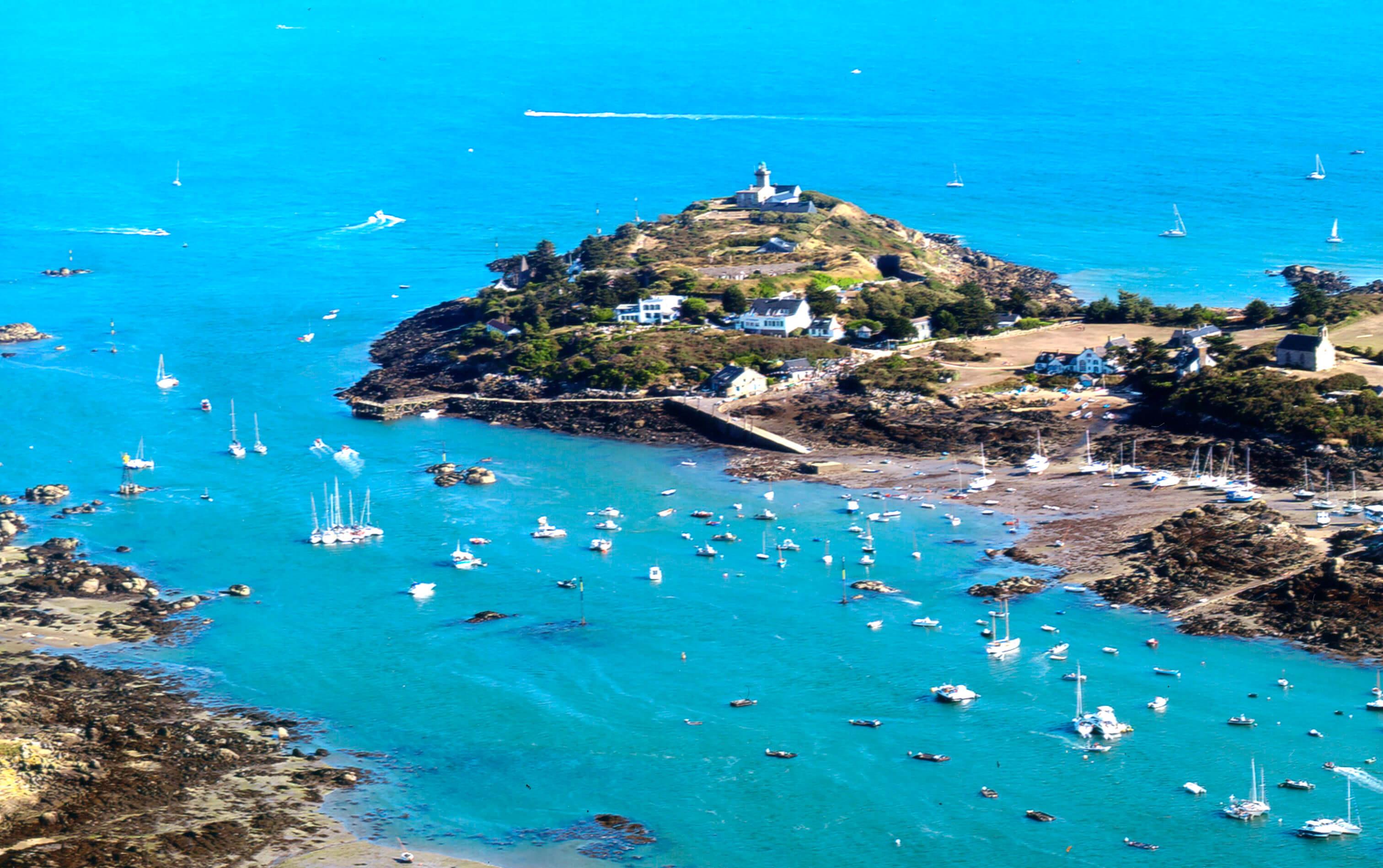 Les iles chausey - GÎTE LES ROCHES GRISES - Location de Gite La Clef Decamp - Laclefdecamp.fr