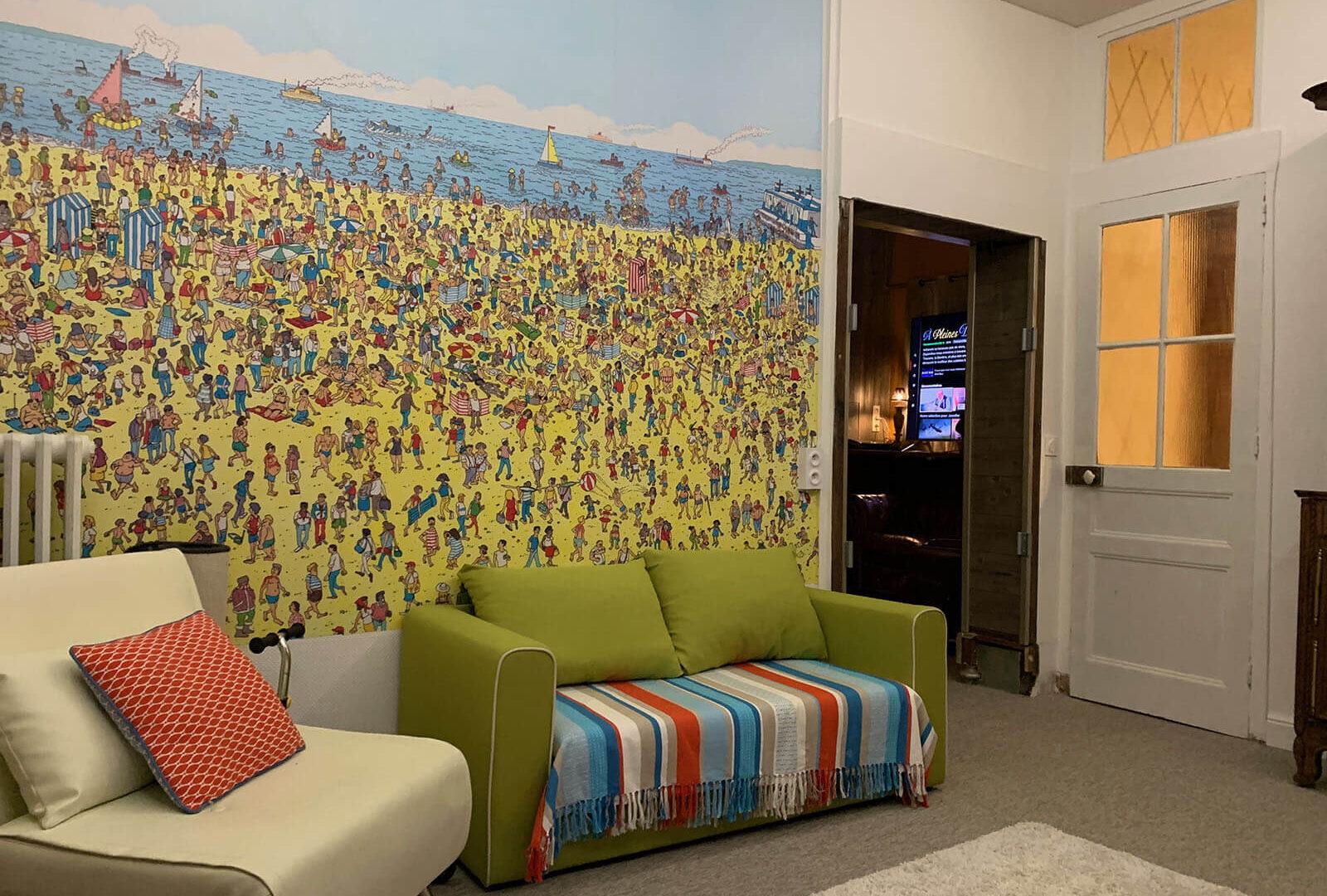 Villa dei 1600x1080 - SALLE DE JEUX - Location de Gite La Clef Decamp - Laclefdecamp.fr
