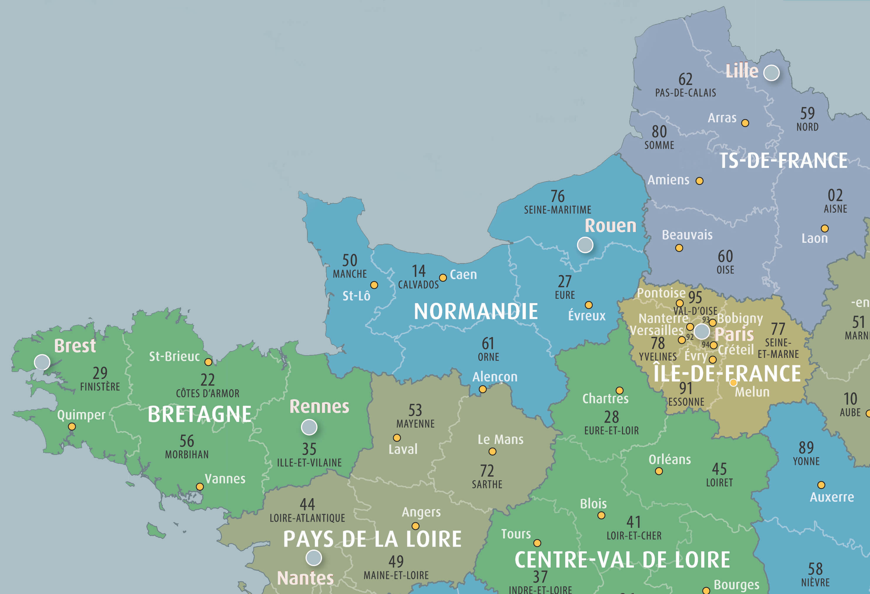 region france - Homepage - Location de Gite La Clef Decamp - Laclefdecamp.fr