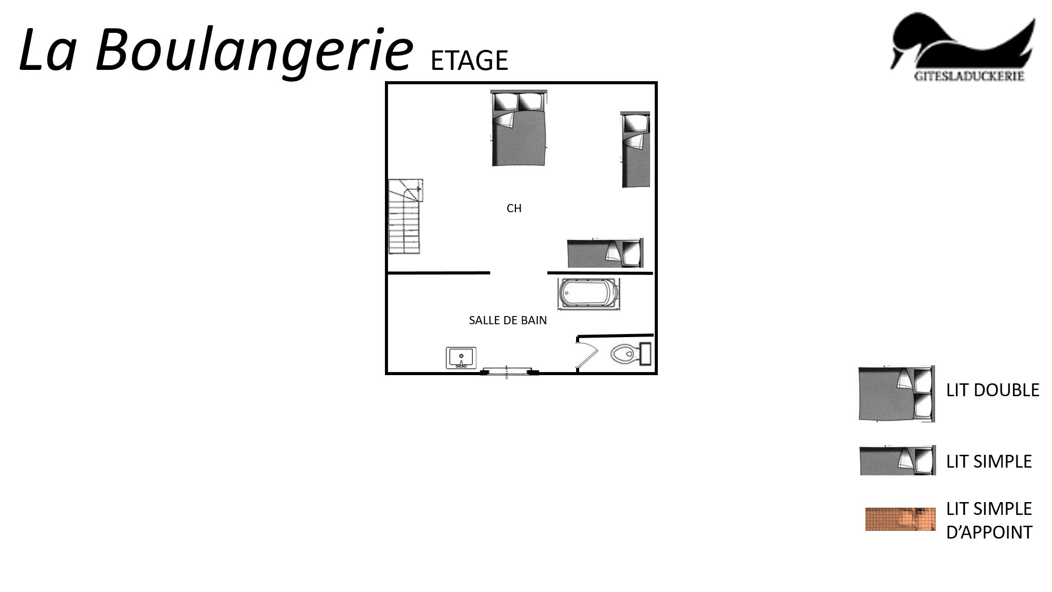 La Boulangerie plans 1er - LA BOULANGERIE - Location de Gite La Clef Decamp - Laclefdecamp.fr