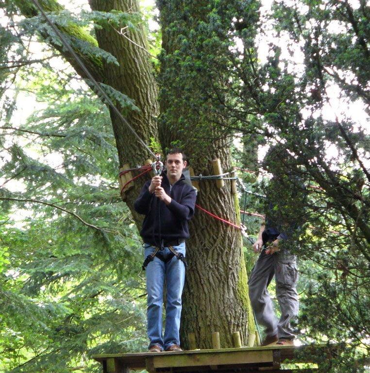 forest adventure2 - ACTIVITÉS & RESTAURATION - Location de Gite La Clef Decamp - Laclefdecamp.fr