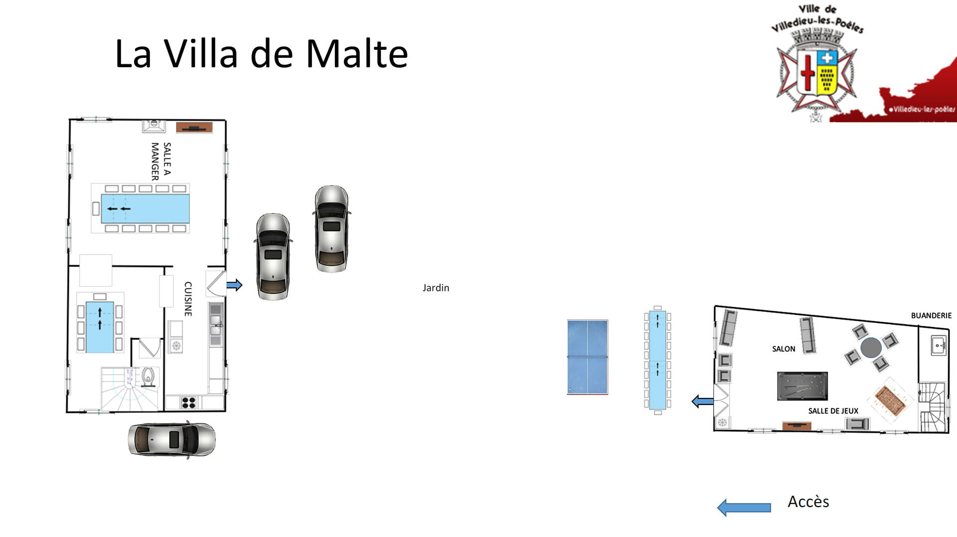 La Villa De Malte RDC