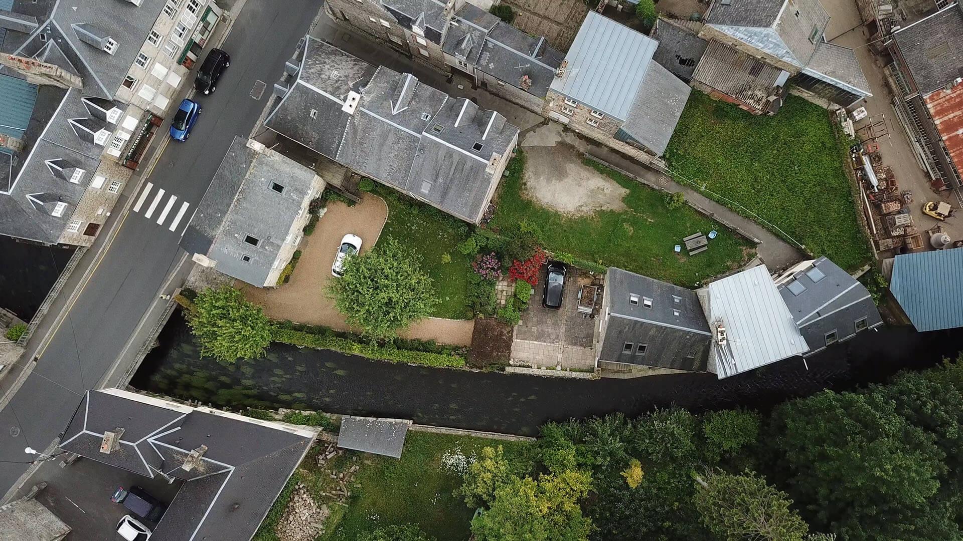 villa de malte drone accueil - GÎTE LA VILLA DE MALTE - Location de Gite La Clef Decamp - Laclefdecamp.fr