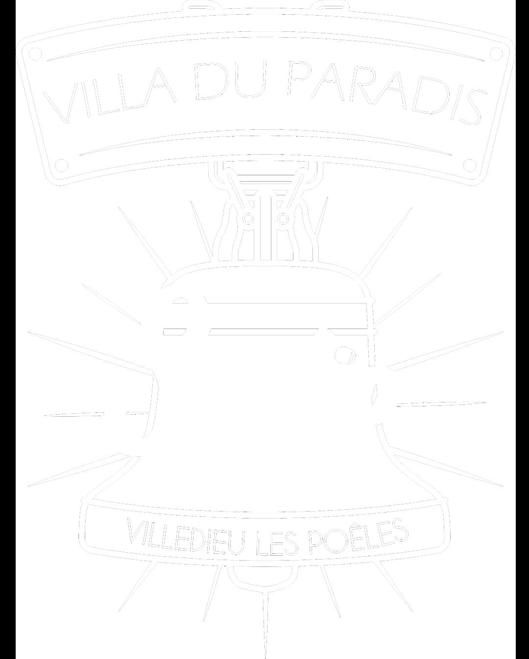 La Villa du Paradis Logo Gite la Villa du Paradis blanc