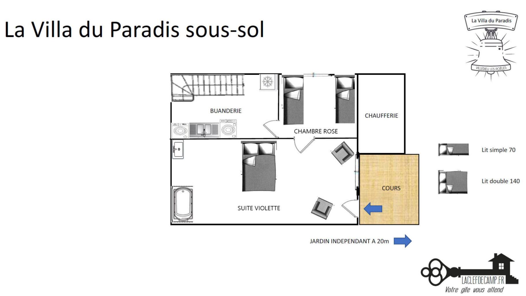 ParadisSoussol plan