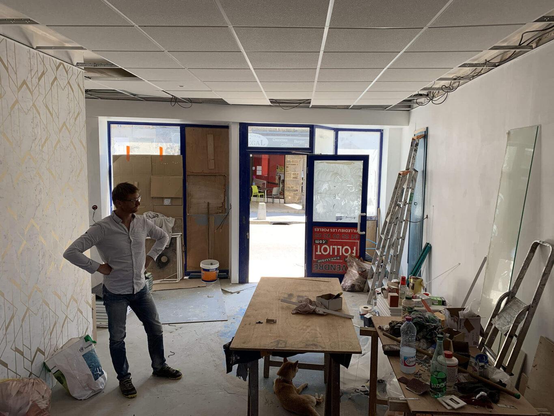 Laclefdecamp bureau gite de luxe - La Clef Decamp s'installe dans un bureau au cœur de ses gîtes - Location de Gite La Clef Decamp - Laclefdecamp.fr