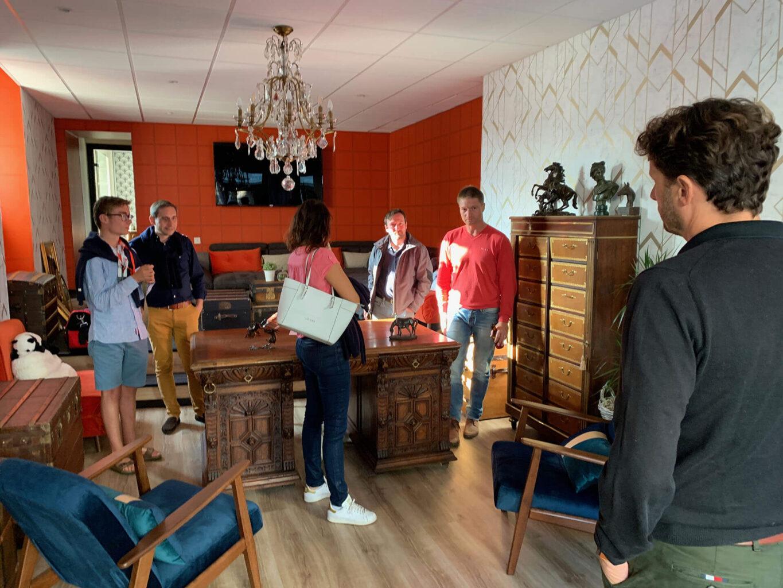 Laclefdecamp bureau gite de luxe8 - La Clef Decamp s'installe dans un bureau au cœur de ses gîtes - Location de Gite La Clef Decamp - Laclefdecamp.fr
