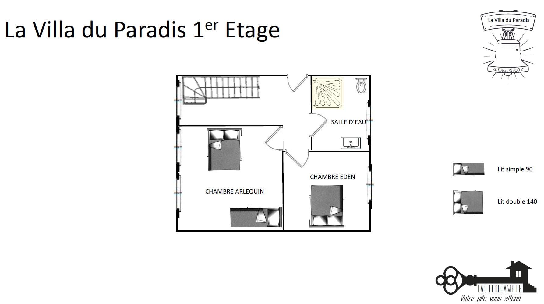 La Villa Du Paradis Villa du paradis 1er