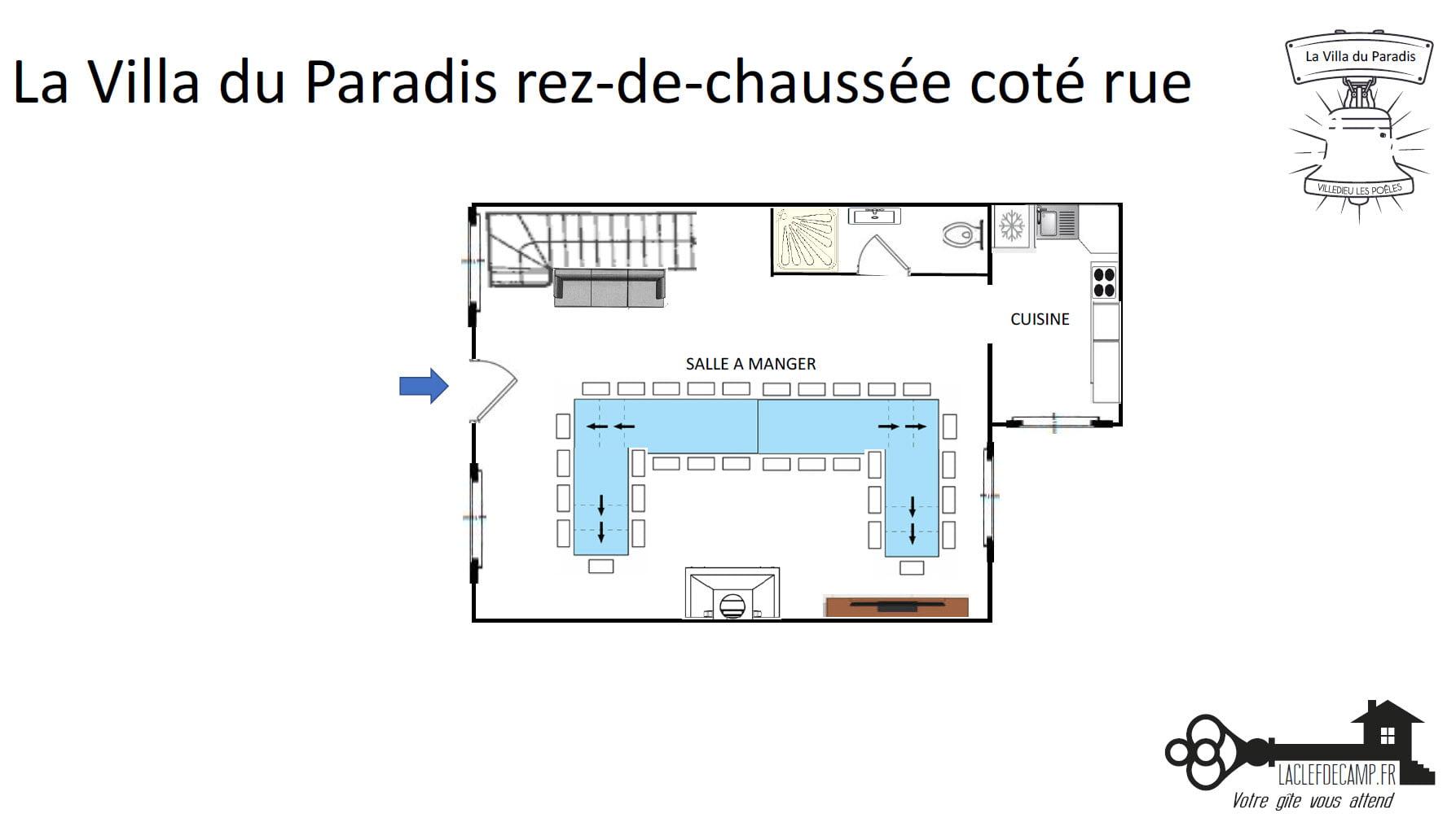 La Villa Du Paradis Villa du paradis rdc rue