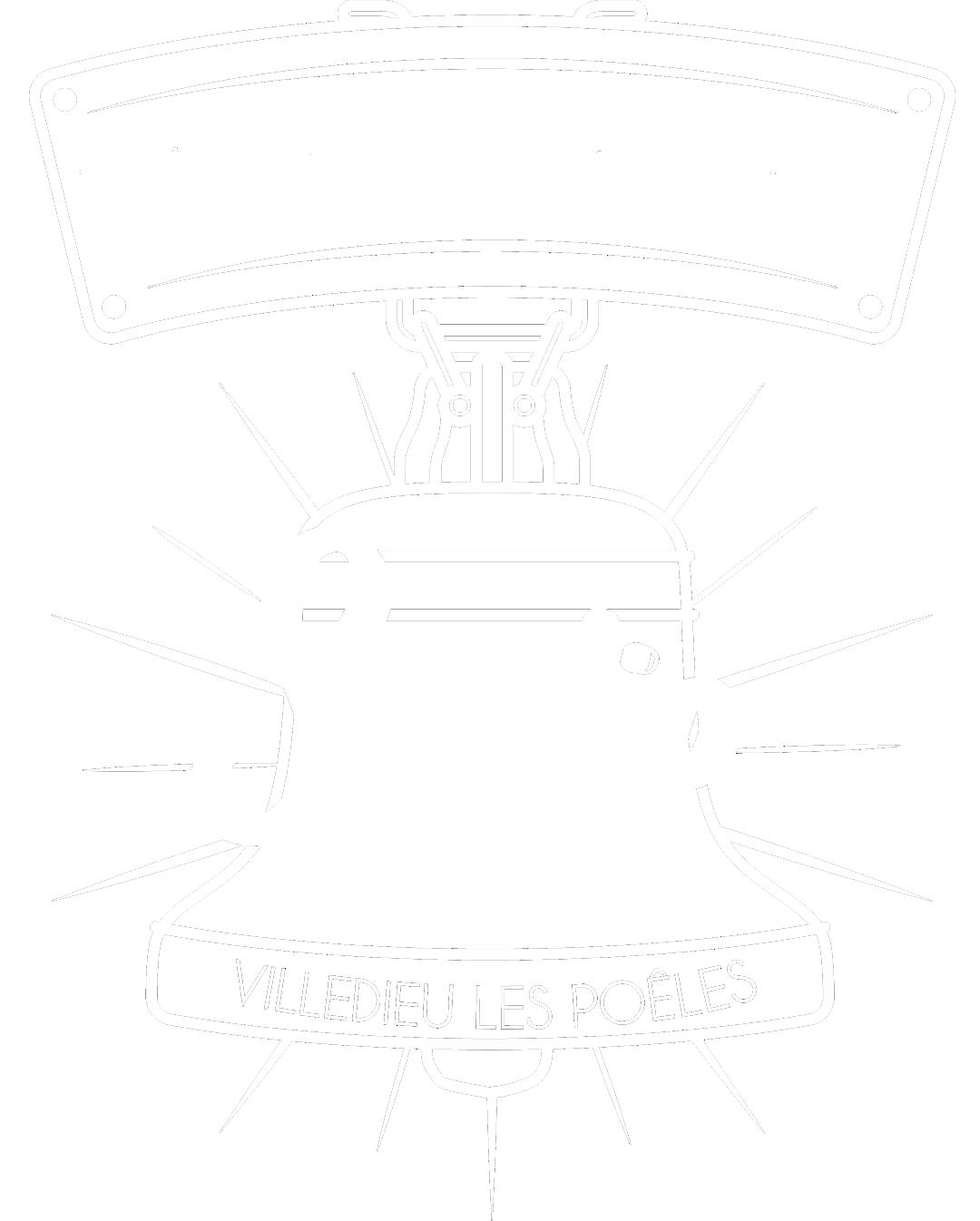 Choisir Son Gîte Logo Villedieu les poeles blanc