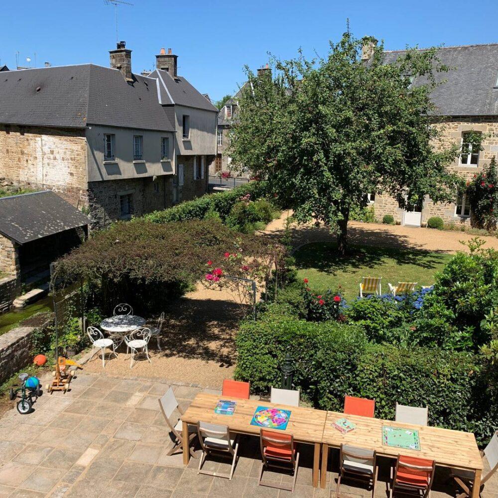 villa de malte jardin